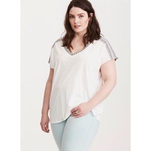 TORRID Embroidered Dolman Top size 3x